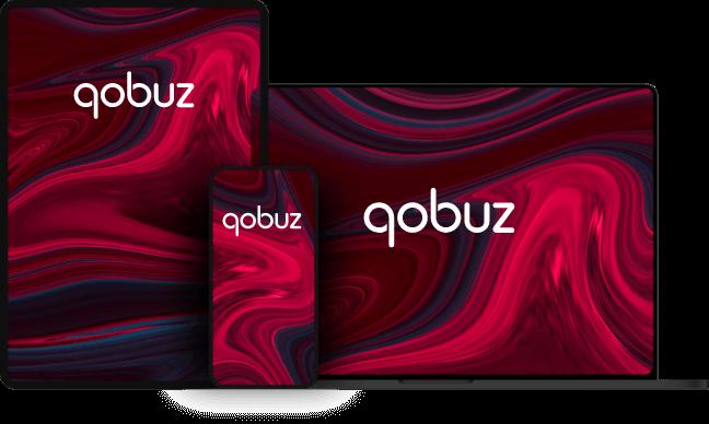 Qobuz Digital high res audio streaming.